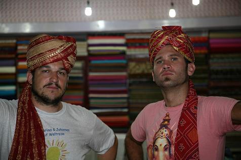 Maharajas Joe Singh y Ivan Singh